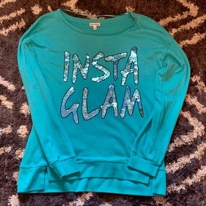 Juicy Couture Insta Glam Sequin Pullover